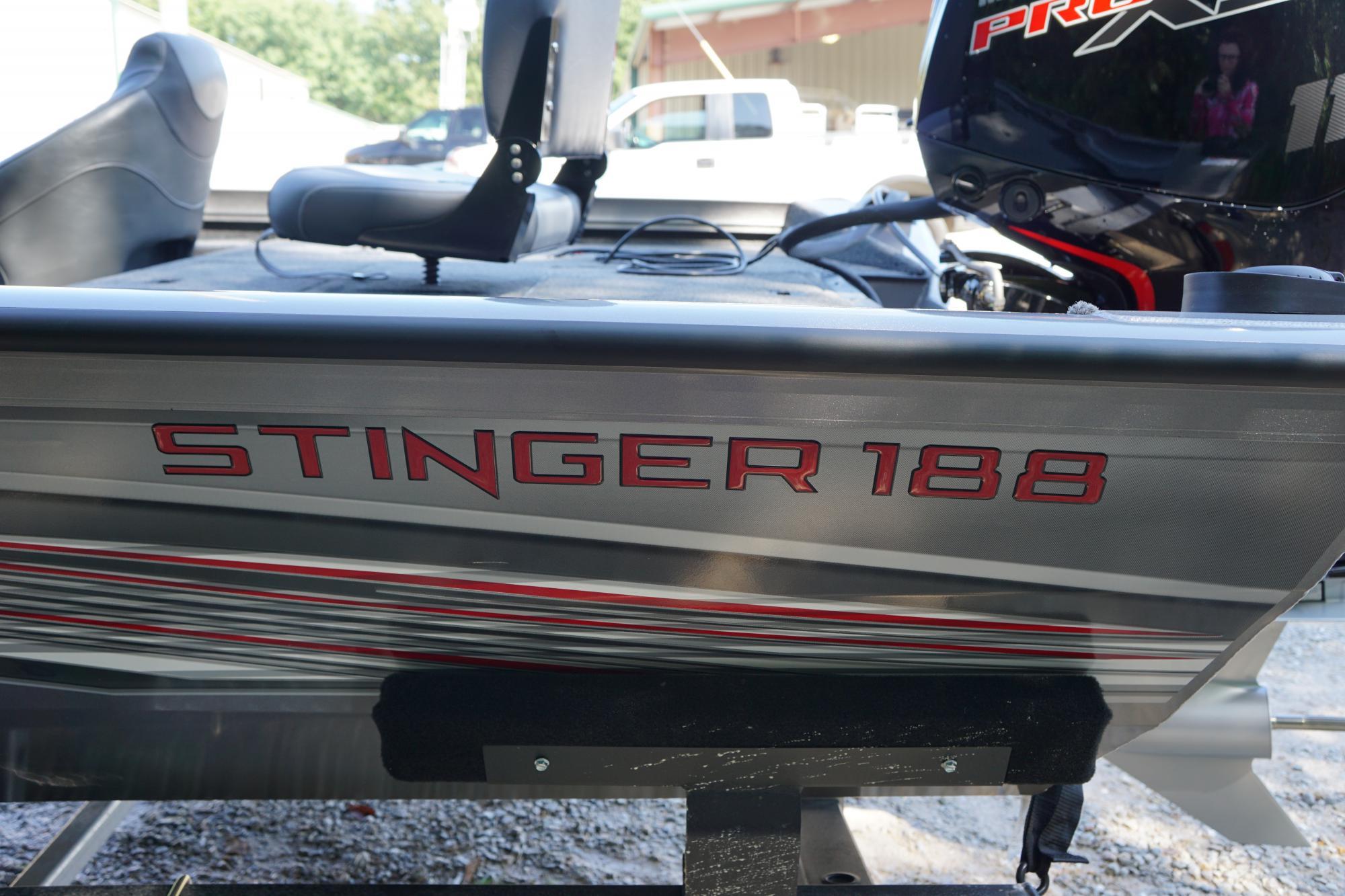 2019 LOWE STINGER 188 W/ 115HP MERCURY